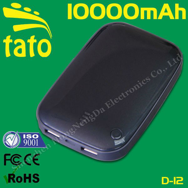 10000mAh portable mobile battery charger for samsung galaxy s3