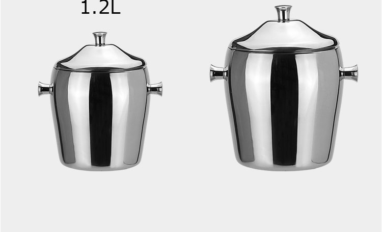 stainless steel metal bucket FT-02604-BC