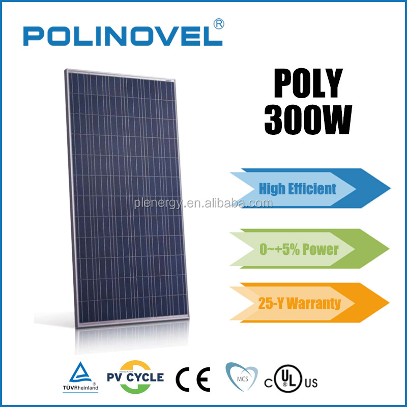 Latest price photovoltaic solar panel 300 w from manufacturer