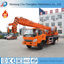Saving Power Diesel/Electric Motor Driving Remote Control Crane Truck