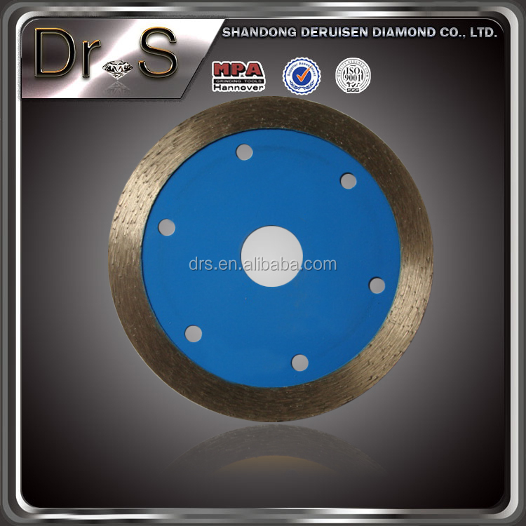 4 1/3 inch Polished tile diamond circular saw blade for cutting off