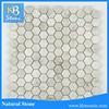 Excellent Quality Stone / Snow White Marble Mosaic