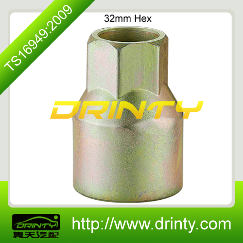 truck wheel key truck wheel nut zinc plating for auto parts