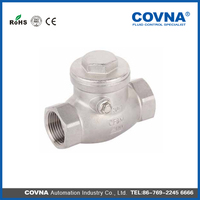 1 1/2 sandwich check valve swing Check Valve mini check valve with low price