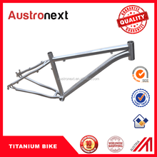Wholesale the Lowest price High QualityTitanium bike frame/Titanium Bicycle Frame 27.5er/29er bicycle frame MTB for sale with CE