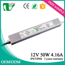 12V 50W High quality led driver metal case led power supply for led with ROHS
