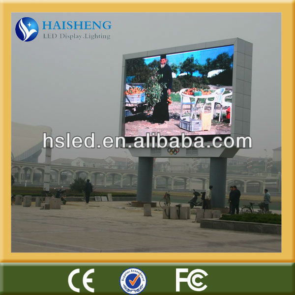 led light display advertising board led display for car advertising
