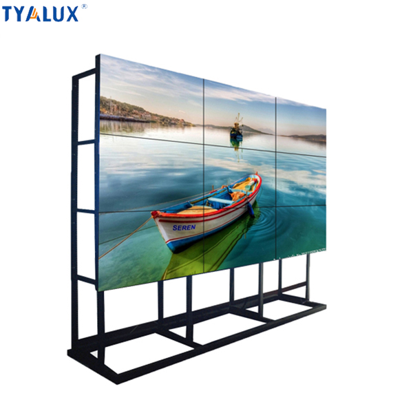 Floor standing display odm/oem wall mounted lcd tft digital media signage player 4K display supported