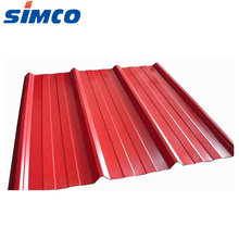 0.45mm corrugated galvanize aluzinc roofing material steel sheet