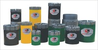 B N H P Wireline Diamod Impregnated Core Drill Bits With Matrix Hardness F1 ~F14 ,Crown Height 14mm