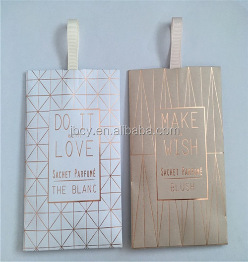 scented Closet sachet with rose fragrance