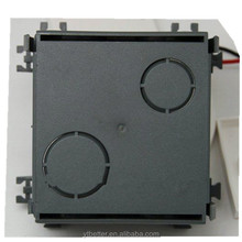 Custom electrical junction box connecting wire box steel box stamping hole painted metal cabinet factory supply