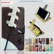 Purse leather flip case for samsung galaxy alnote note 2 3 4 5 e6 e7 e8 e9