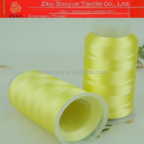 Upscale continuous filament 100 polyester embroidery thread