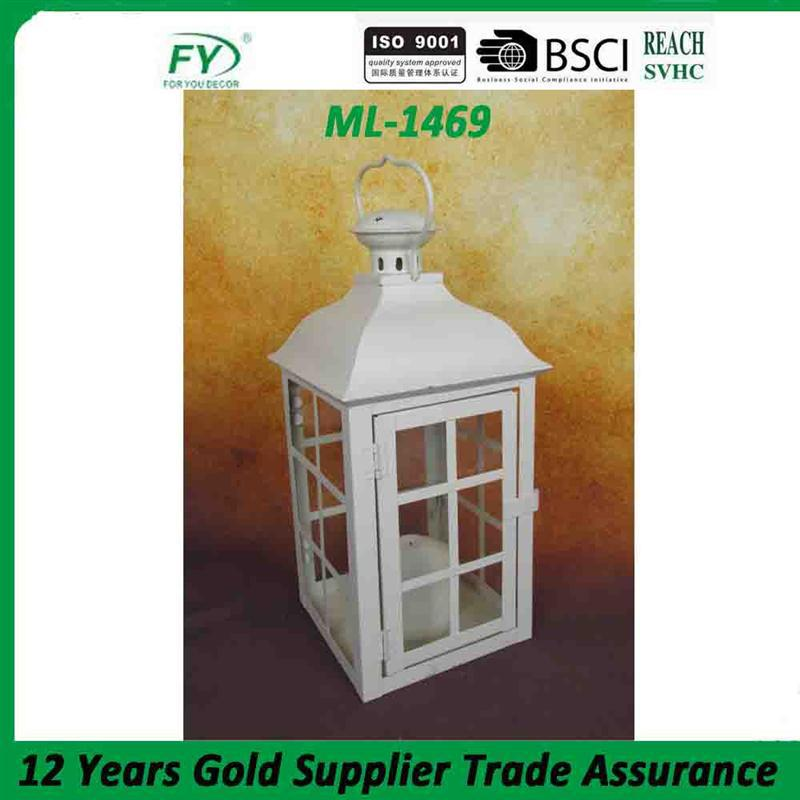 Hot sale cheap decorative garden lantern candle holders ML-1469