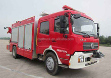 Dongfeng 4x2 foam fire truck with high quality