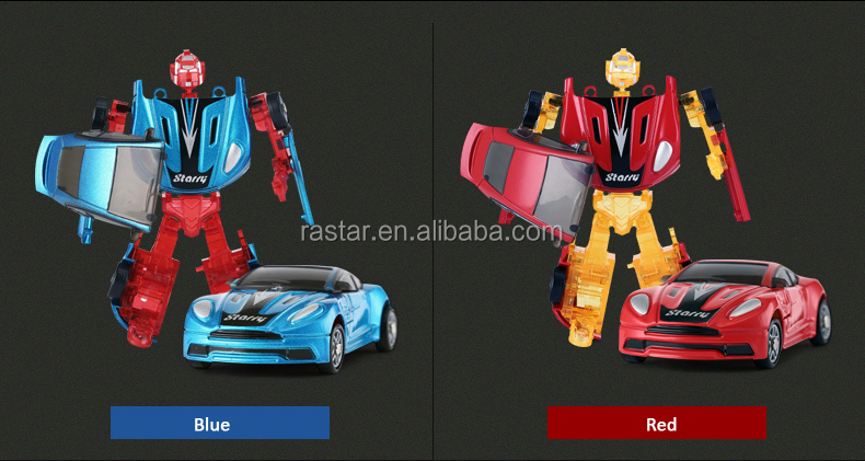 Rastar toys & hobbies kids 1:64 size toy cars robot for kids