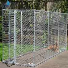 Reasonable price Professional factory used chain link large dog kennel fence panels supplier