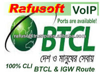 BTCL IGW VoIP Getway Routes Termination