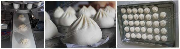High quality new automatic steamed bun machine