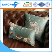 ribbon embroidery outdoor patio chair cushion