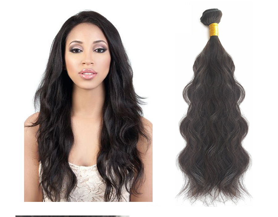 Unprocessed One Donor Brazilian Hair Piecesnatural Hair Weave