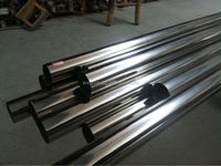 mirror polished grade 304 316L stainless steel pipe used for good & medical area
