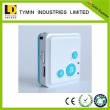Click call for help function GPS tracker with SOS emergency button