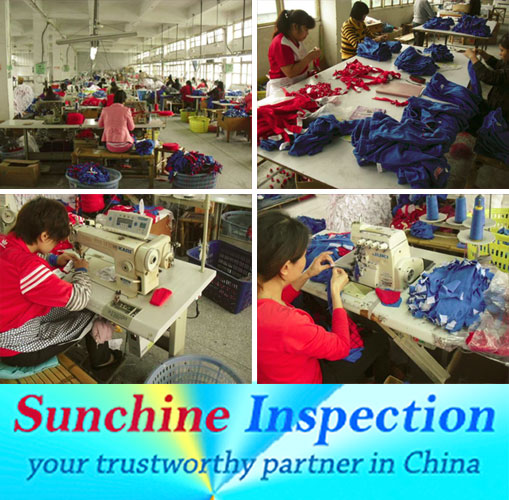 China garment and textile inspection service and quality control in textile and garment