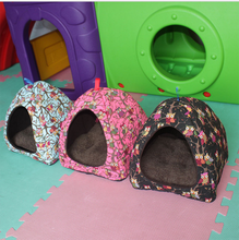 Wholesale Cartoon Kennel Warm Cat Pet Dog House Pad Pet Supplies Winter Dog