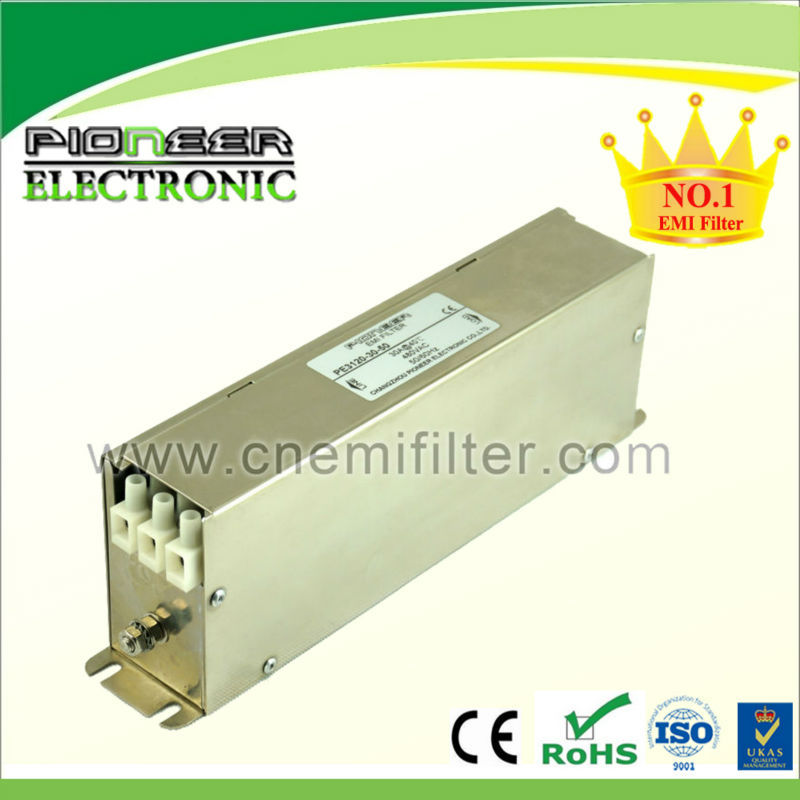 20A 380VAC PE3120-30-50 power generator filter, servo drives Power filter