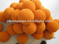 sponge ball for cleaning rubber hose