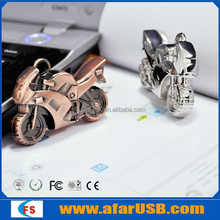 Cool motorcycle shape usb flash drive with three available colors