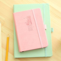 2016 new custom fashion agenda organizer planner notebook PU Leather Diary