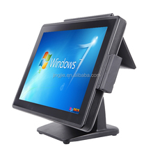 "JJ-3500 restaurant equipment 15"" two touch screen POS system / Android POS / POS"