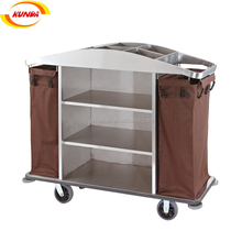 cheap price good quality hotel housekeeping trolley maid cart trolley cleaning service trolley C-083