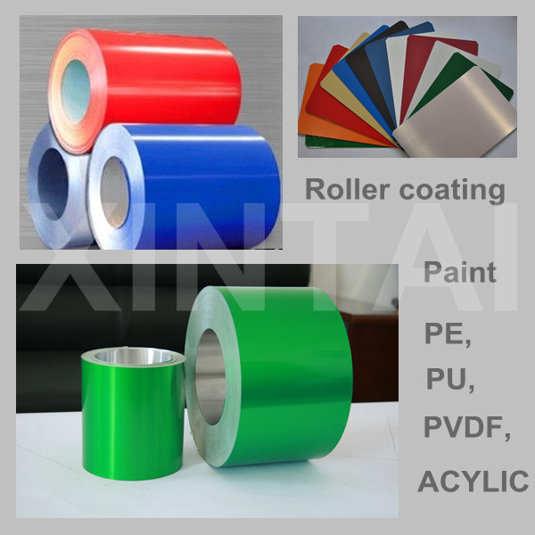 PE coating/painted aluminum sheet coil