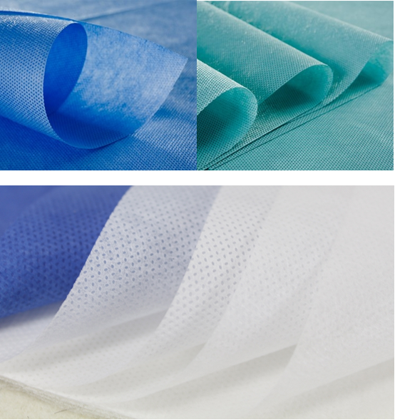 sms non woven fabric for hospital use