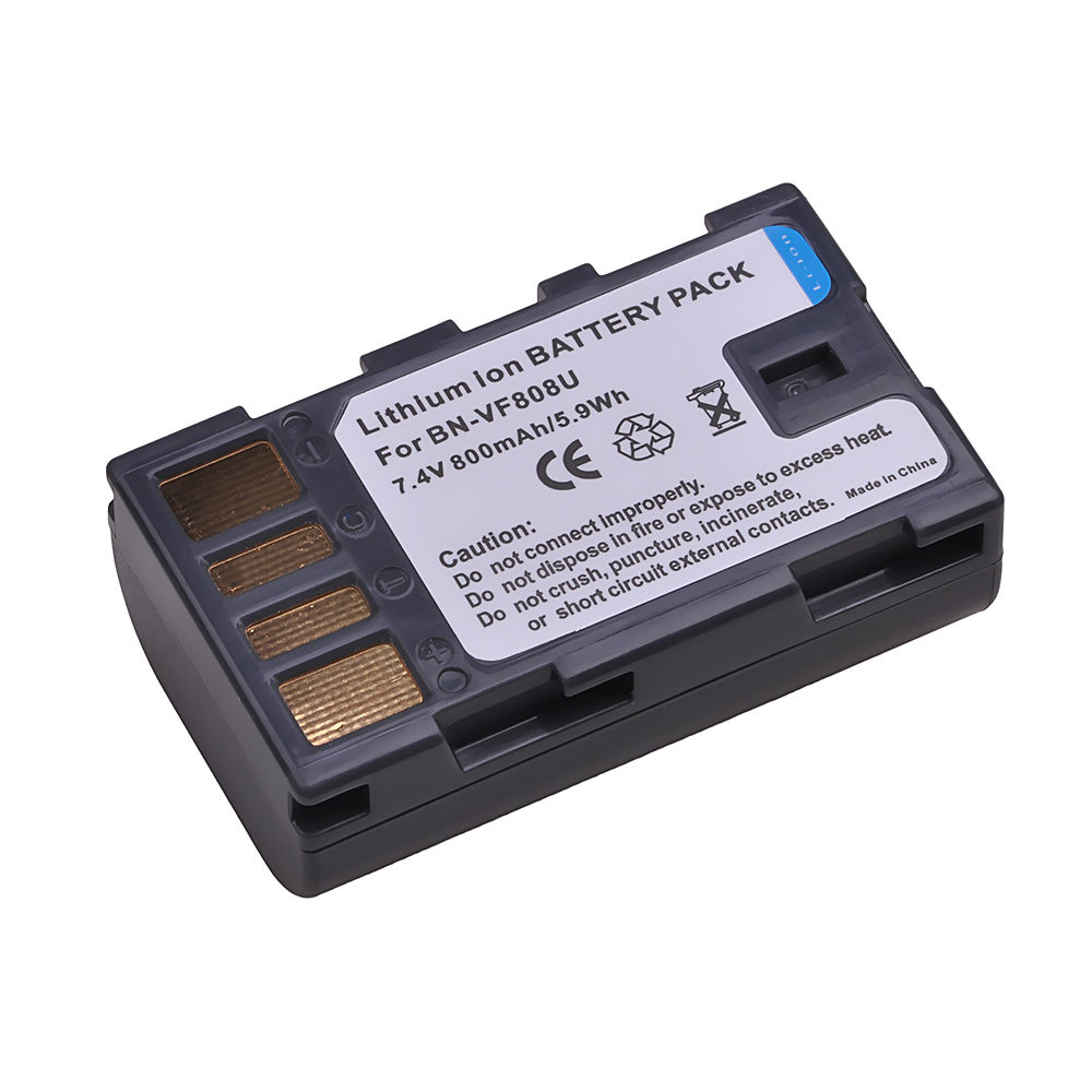 Replacement camera <strong>battery</strong> For JVC BN-VF808U BN-VF808 BN-VF815 BN-VF818 BN-VF823U