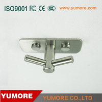 decorative removable concrete unique metal V shape no mark wall hook