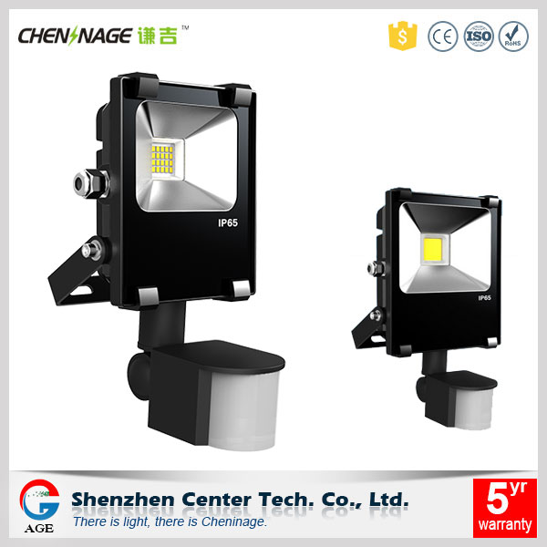 IP65 PIR motion sensor energy saving outdoor led flood light with 30w