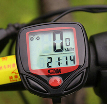 Large Screen LCD bicycle computer odometer, bicycle speedometer, digital waterproof speedometer for bike accessories
