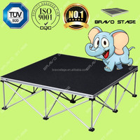 DJ Equipment Exhibition Designs Used Aluminum Portable Stage for Sale