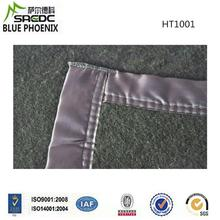 Wool Polyester Green Solid Col Single Ply Chinese Exporter army blankets cheap