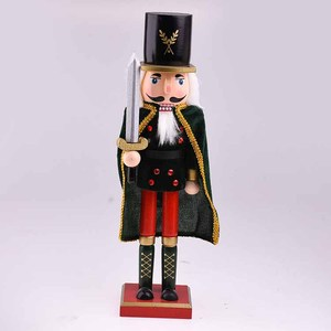 High-quality hand painted Wooden Crafts Toy nutcracker dolls