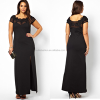 2014 Sexy embroidery lace pakistani maxi dress big size women dress evening dress