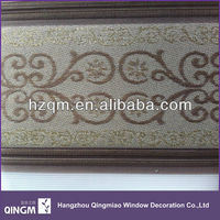 Custom Jacquard Blind Double Layer Design For Window Shading Blind