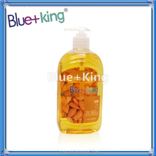 Blue-King ALCOHOL FREE Clear Liquid Hand Soap ALMOND 17.6OZ(520ml)