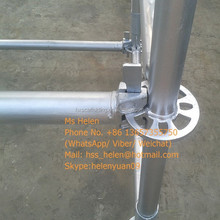 AS/NZS 1576.3 Galvanized Ringlock scaffolding