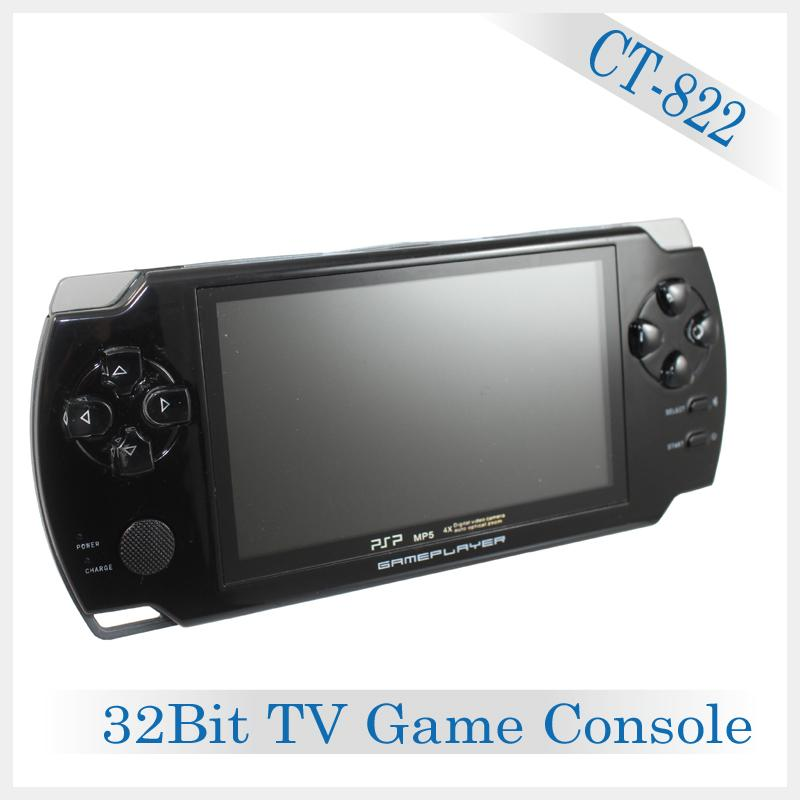 "Portable Handheld Video Game Console with 4.3""inch color screen"
